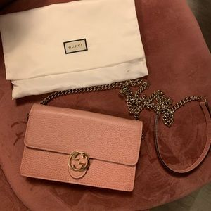 Gucci Clutch with removable chain